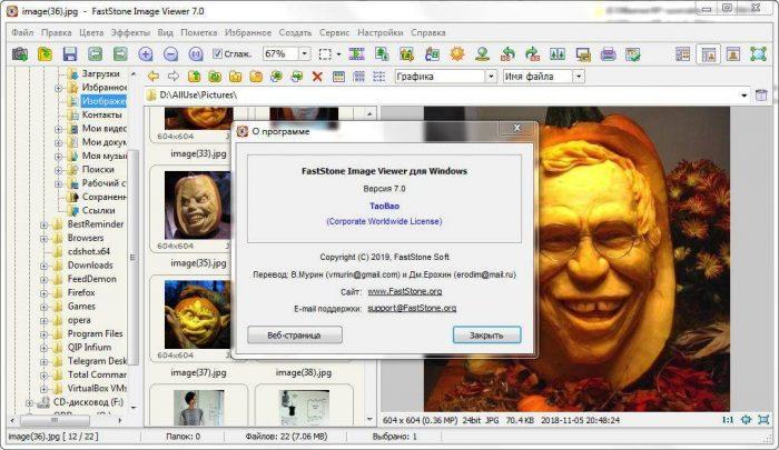 Скачать FastStone Image Viewer бесплатно на русском