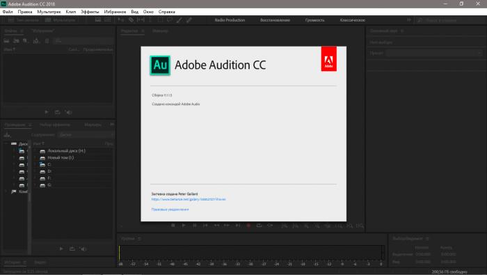 Скачать Adobe Audition бесплатно русская версия