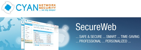 Cyan Network Secure Web