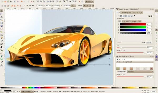 Inkscape на Windows 7