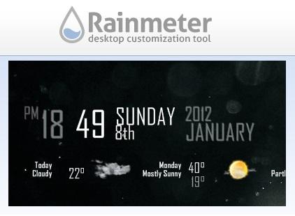 rainmeter для windows 7
