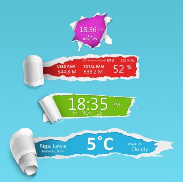 rainmeter темы