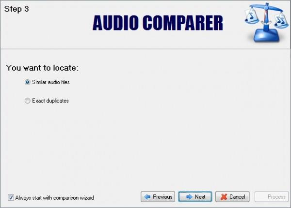 Ключ к audio comparer