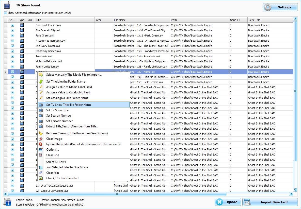 Скриншот 2 к eXtreme Movie Manager