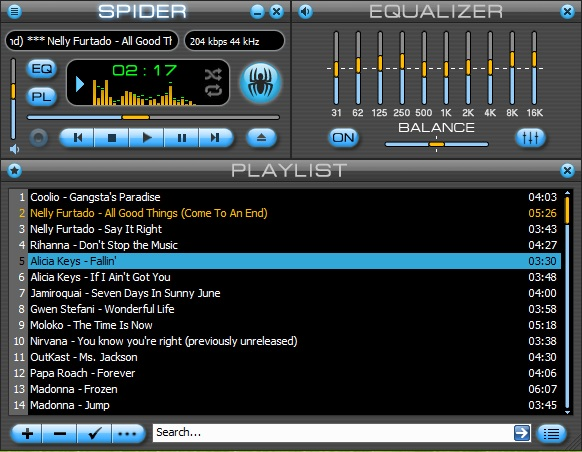 Spider Player Professional 2.5.3 rus