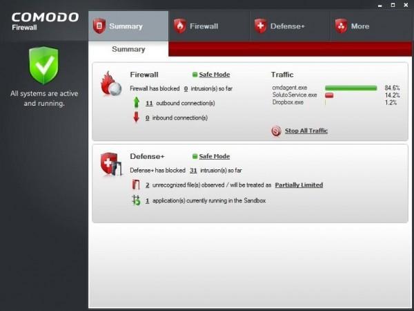 Comodo Firewall бесплатно скачать можно ниже