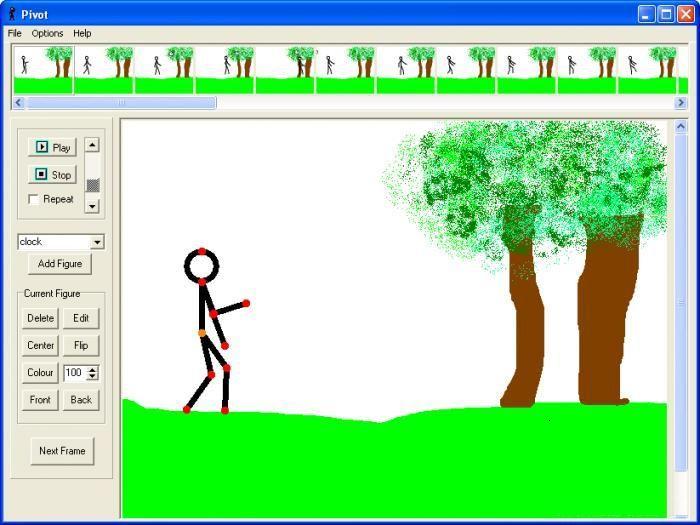 Скачать программу pivot animator