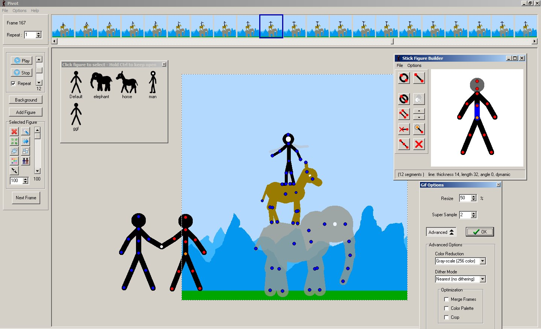 Pivot Animator 4.2.6 скачать бесплатно на русском языке
