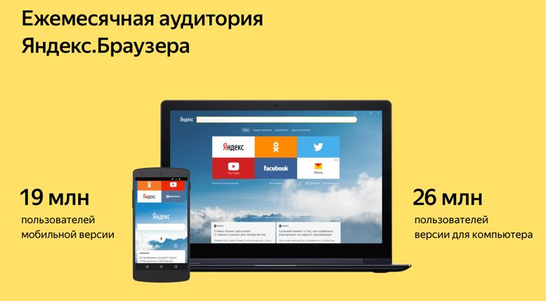 С первым юбилеем браузер от Яндекса