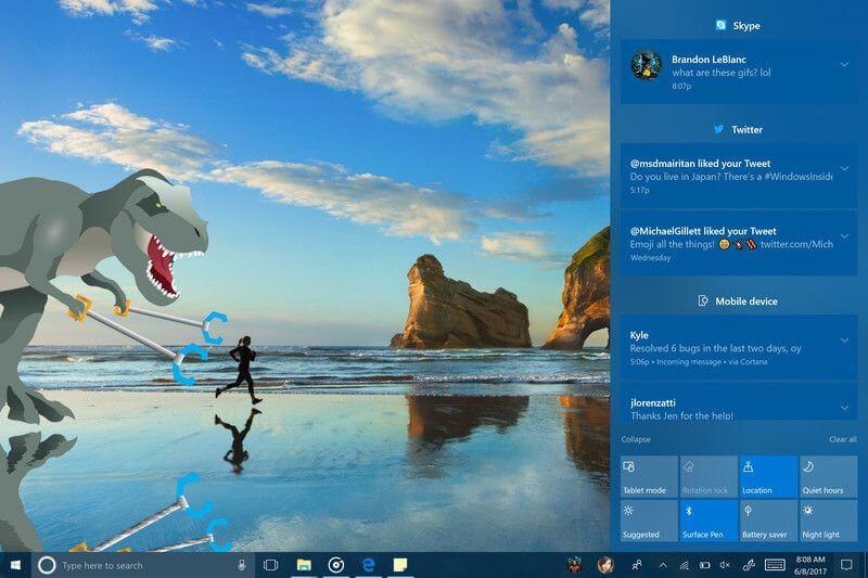 Windows 10 Fall Creators: что нового