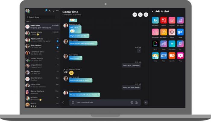 Microsoft обновила настольную Skype