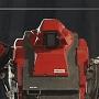 Первый бой гигантских управляемых роботов