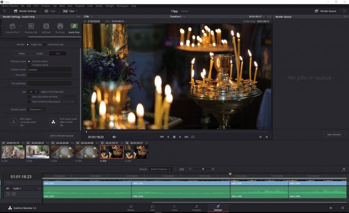 Скачать Davinci Resolve Studio 14