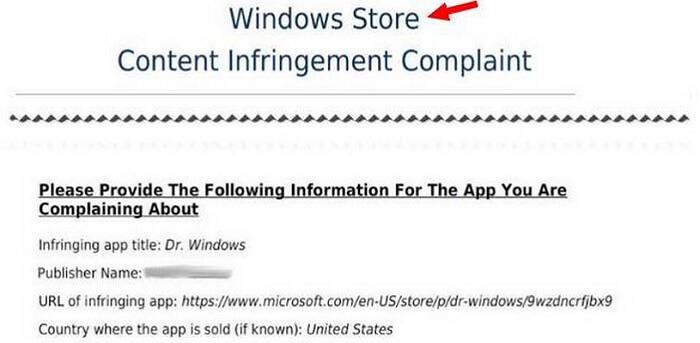 Microsoft обеспокоилась именами программ