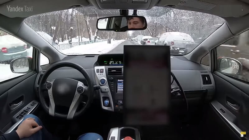 Тест беспилотного Яндекс авто