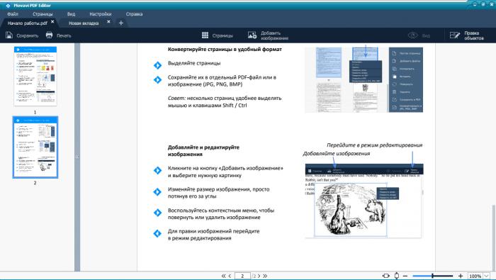 Movavi PDF Editor RUS