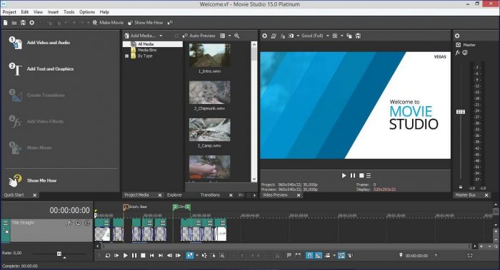 MAGIX Vegas Movie Studio