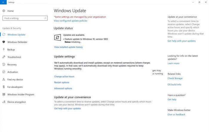 Как установить обновление апреля Windows 10