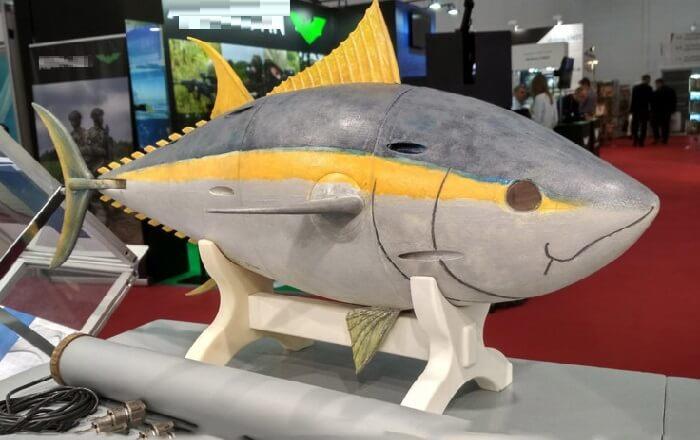 Российские ученые создали робота-тунца