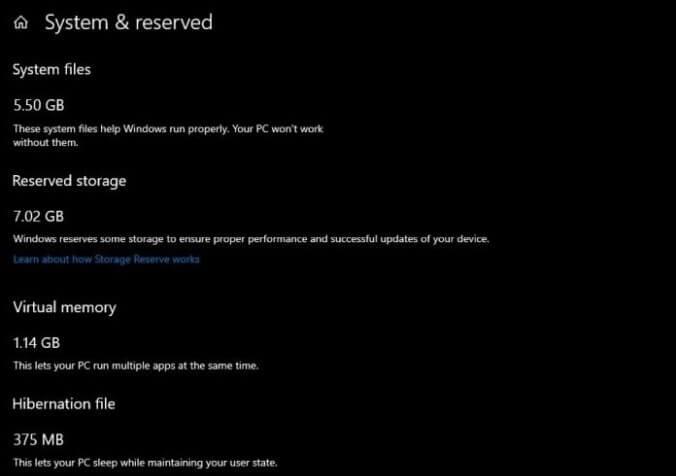 В Windows появится резерв для обновлений