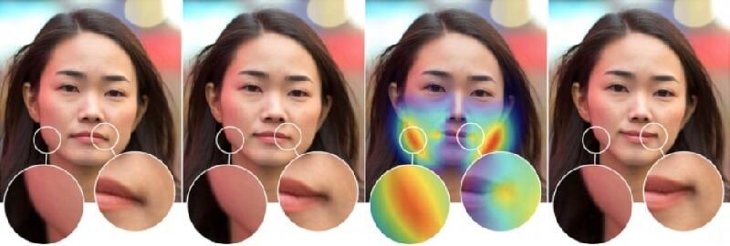 Нейросеть определяет изменения на лице