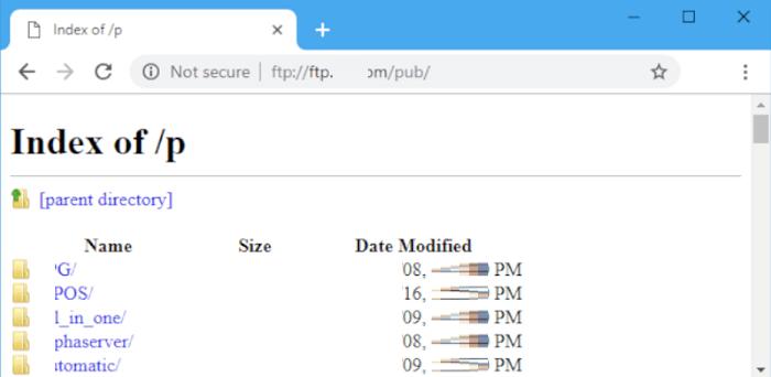 В Chrome 82 уберут поддержку FTP