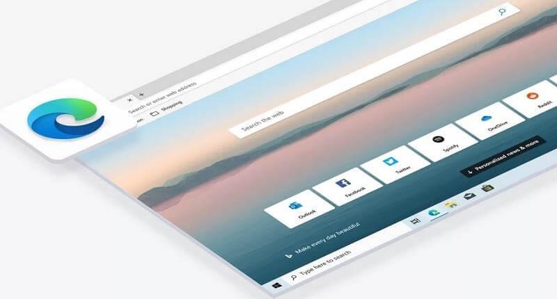 Новый интерфейс и движок в Edge