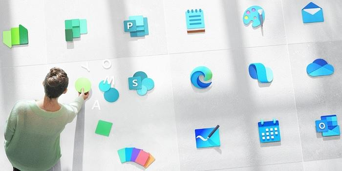 Компания показала новые иконки в Windows 10