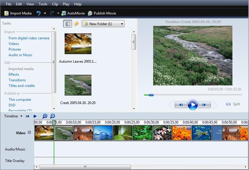 Windows Movie Maker скачать бесплатно русская версия - фото 10