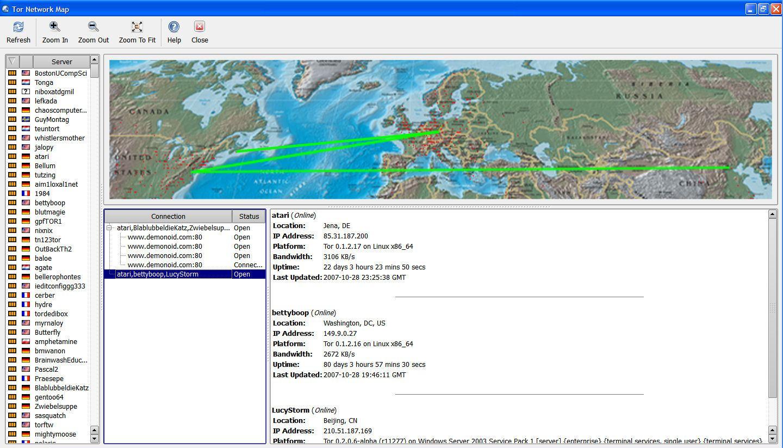 Tor Browser скриншот №5