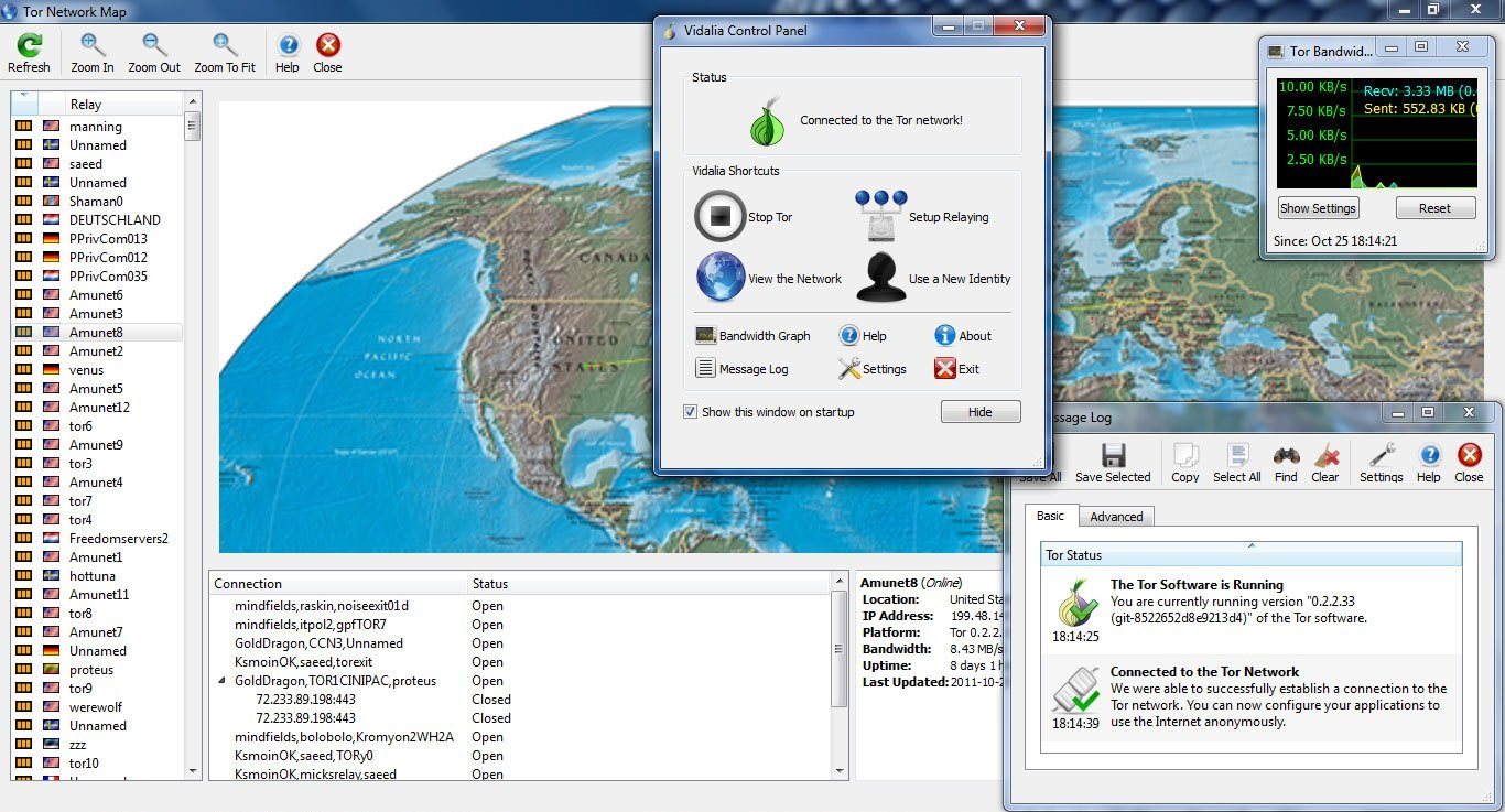 Tor Browser скриншот №4