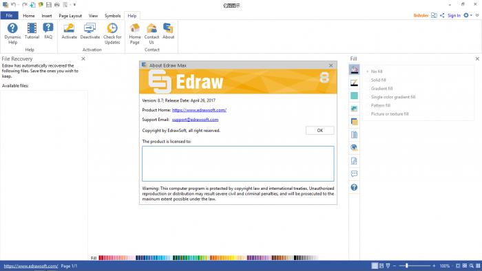 EDraw Max 9 Crack Free Download + Serial Key